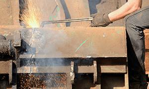 Scrap Metal Cutting